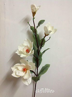 Artificial plants & flowers Wedding Flower Magnolia stem F76