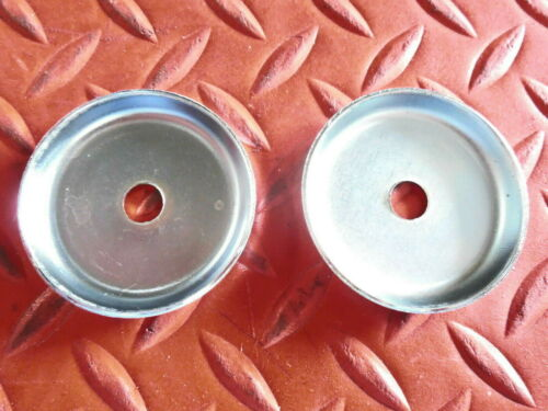 NEW 1967-1973 CHEVY CAMARO GM FENDER /& BODY RERPRODUCTION WASHERS CUPPED PAIR