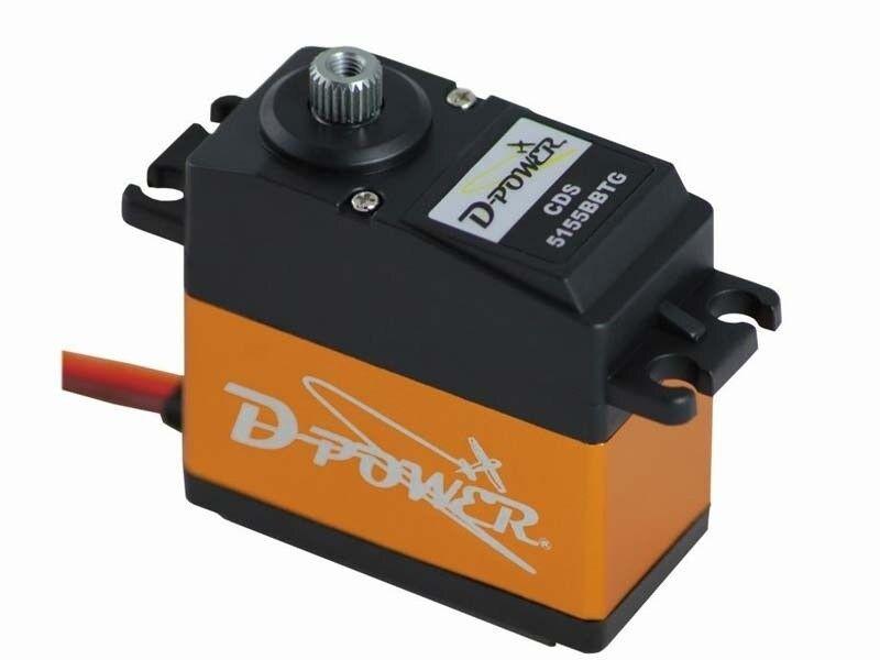 D-Power CDS-5155BBTG Corless-Digital-Servo - 220-CDS5155