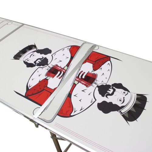 Beerpong Bierpong Tisch Partyspiel Trinkspiele Spieltisch Erwachsenenspiel
