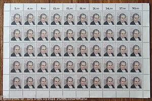 Bund-BRD-1082-kompl-Bogen-Elly-Heuss-Knapp-postfrisch-Full-sheet-MNH