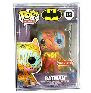 Funko Pop! Batman 03 Art Series Orange DC Target Exclusive IN HAND DC Hard Stack