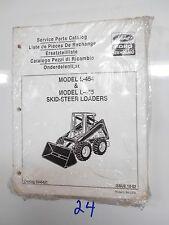 Ford New Holland L 454 L 455 Skid Steer Loaders Service Parts Catalog 5045421