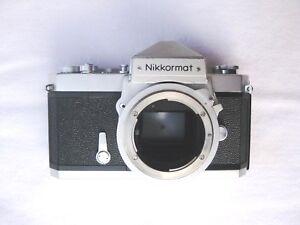 Nikon Nikkormat Ft Gehäuse Body Silber Erstbesitzer äRger LöSchen Und Durst LöSchen
