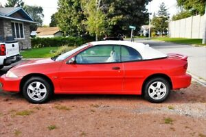 2000 Cavalier CONVERTIBLE  great shape ,CERTIFIED ! CLEAN