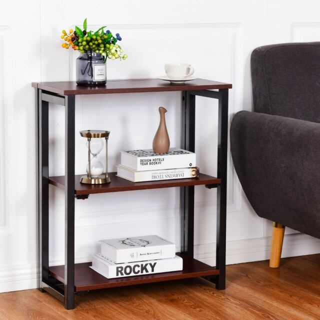 Stupendous 3 Tier Home Display Stand Folding Panels Bookshelf Classic Room Furniture Caraccident5 Cool Chair Designs And Ideas Caraccident5Info