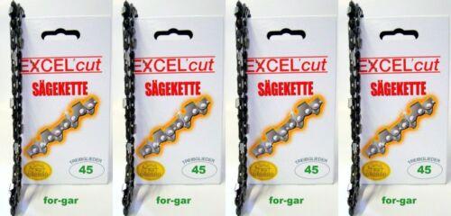 ikra socios Shindaiwa SKIL Einhell 4 sierra cadenas 30 cm 3//8 1,3 45 a juego con