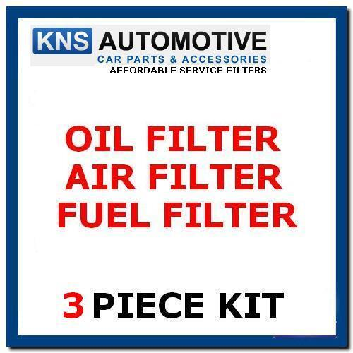 Fits Fiat 500x 1.6 2.0 Multijet CRD Diesel 14-19 Air-Fuel-Oil Filter Service Kit