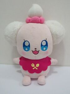 KiraKira-Pretty-Cure-A-La-Mode-Precure-Pekorin-Talking-9-034-Plush-Bandai-Toy-Doll