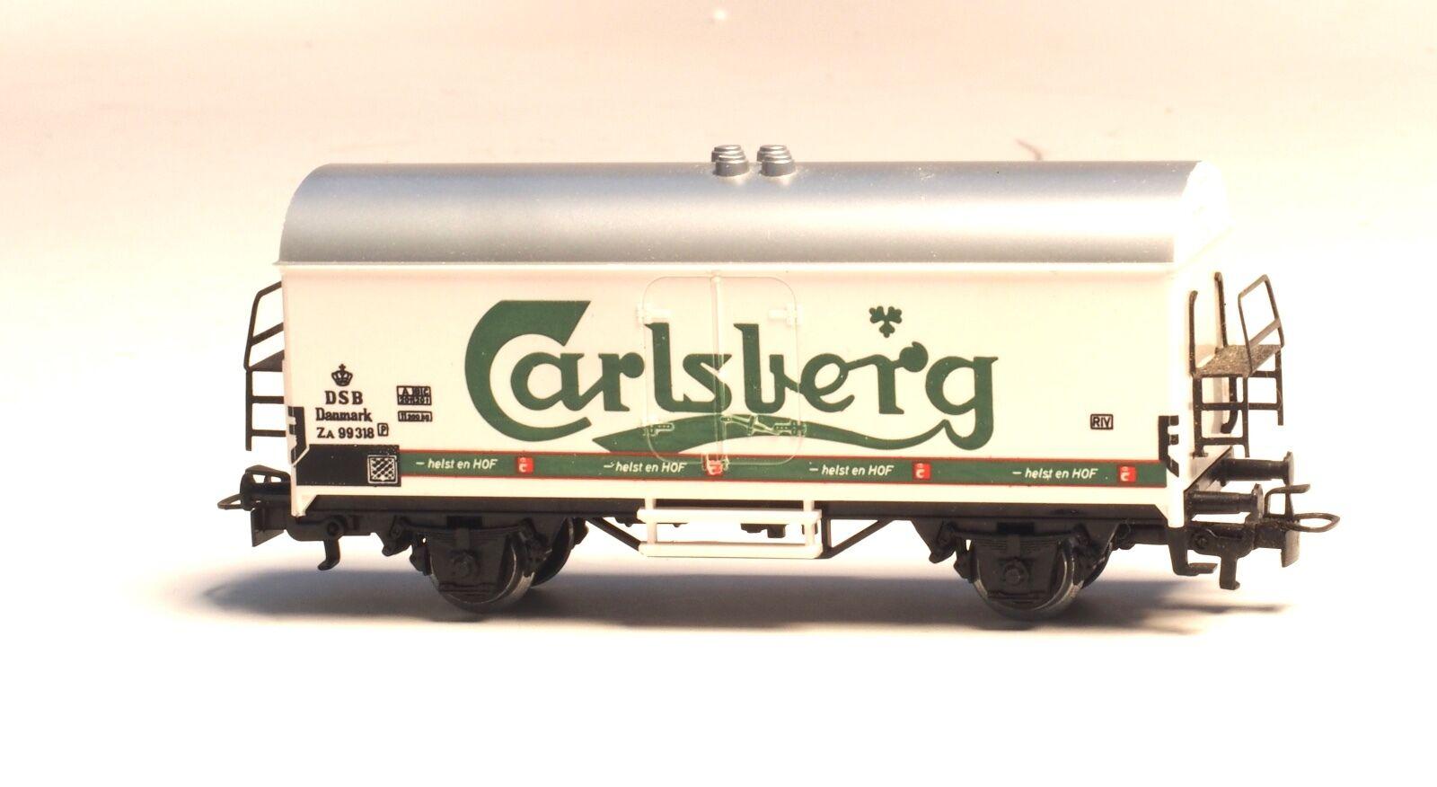 4530 MARKLIN HO DSB Danish BEER car  Carlsberg