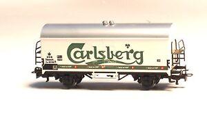 4530-MARKLIN-HO-DSB-Danish-BEER-car-034-Carlsberg-034
