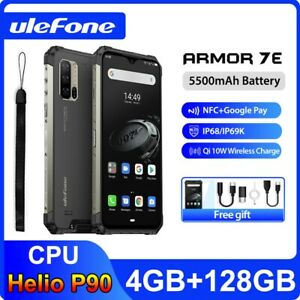 "Ulefone Armor 7E Rugged Phone 6.3"" Helio P90 Octa Core IP68 Global Version 48MP"
