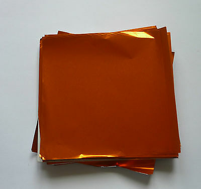 50 Square Foil Wrappers for Chocolates & Sweets.80mm x 80mm.18 Colours Available