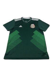 Adidas Mexico Soccer Jersey Size M Mens Green | eBay