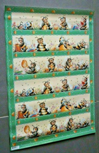"""Decoupage Bogen 50 x 70 cm /"""" Honig Biene /""""    # 29 #"""