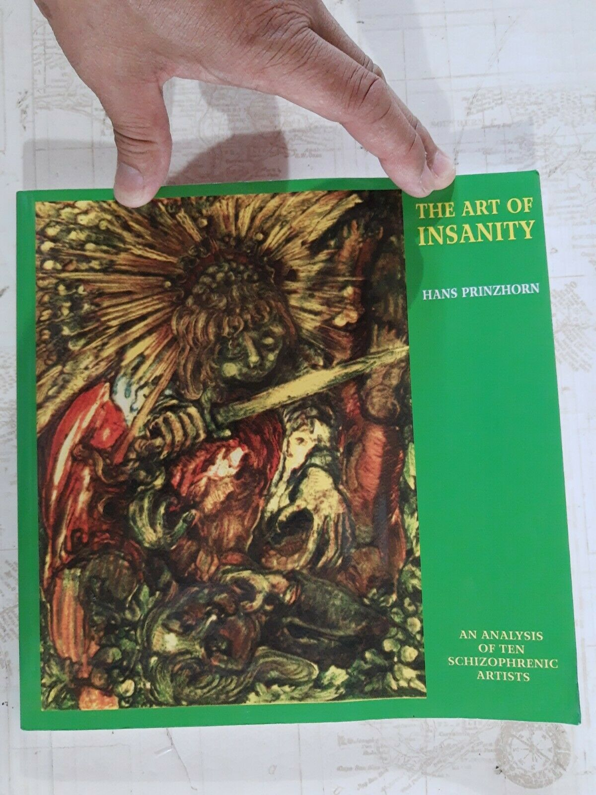 Solar Research Archive Ser The Art Of Insanity An Analysis Of Ten Schizophrenic Artists By Hans Prinzhorn 2011 Trade Paperback For Sale Online Ebay