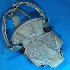 2521bf1a118 item 6 K504E Evenflo Snugli Soft Baby Carrier 0441847 Gray Backpack  Adjustable No Box -K504E Evenflo Snugli Soft Baby Carrier 0441847 Gray  Backpack ...