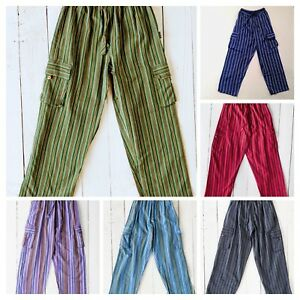 Gringo-Trousers-Nepalese-Fair-Trade-Cargo-Pants-Combats-Yoga-Casual-Festival
