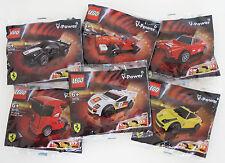 LEGO FERRARI shell Polybags 30190 30191 30192 30193 30194 30195 friction motor