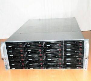 Bluechip-STORAGELine-INTEL-XEON-5506-Quad-Core-2-13GHz-f-24x-HDD-Rack-Server