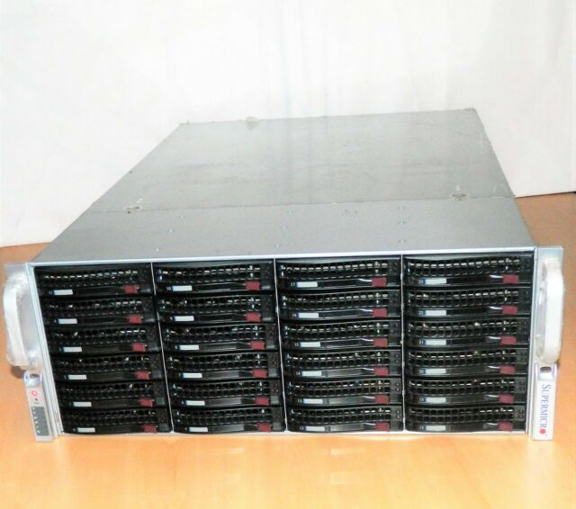 Bluechip STORAGELine INTEL XEON 5506 Quad Core 2,13GHz f. 24x HDD, Rack Server