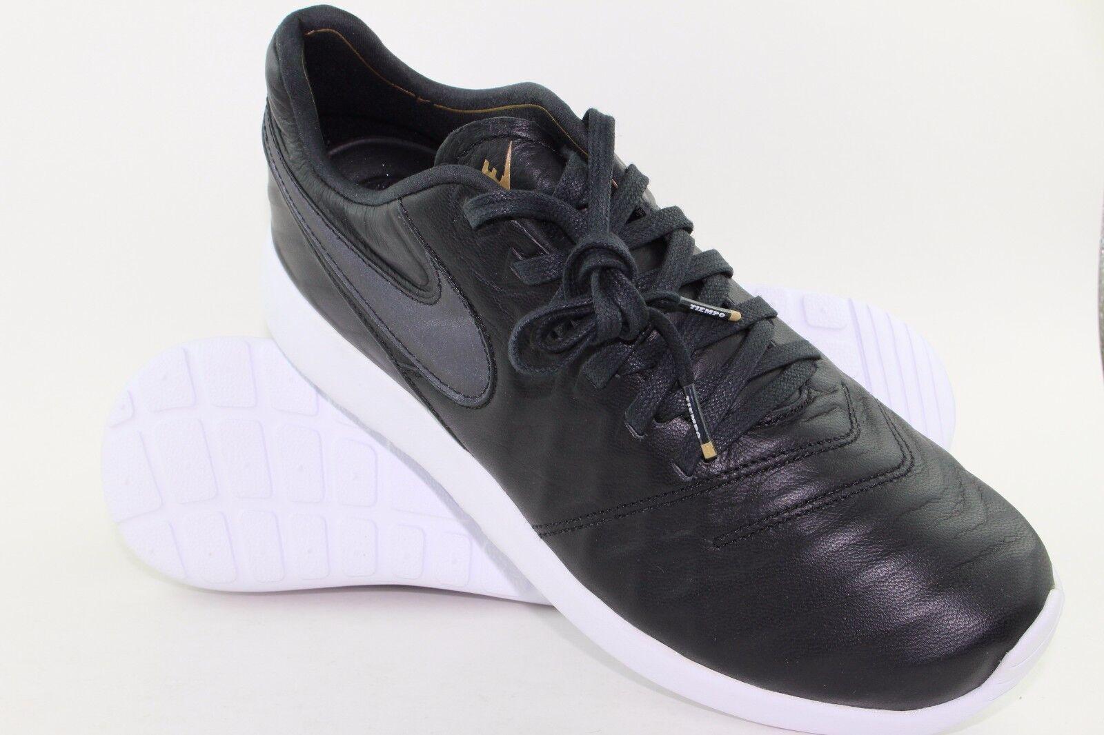 Nike roshe tiempo vi vi vi presto trovare dimensioni 9.5 luce nera peso nuovo e3e744