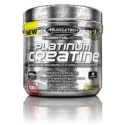 Muscletech Platinum 100%Creatine - 400g 80 Serving