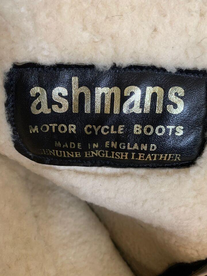 Støvler, Ashmans Classic motorcykelstøvler, str. 43/44