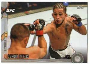 2015-Topps-UFC-Chronicles-Silver-Parallel-214-Sergio-Pettis