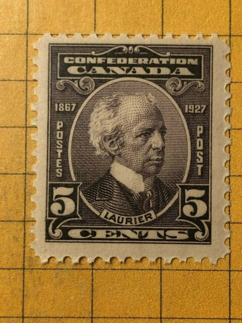 CANADA 1927 SIR WILFRID LAURIER, 5 cents Scott 144  MNH