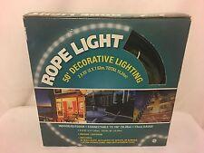 NEW 50' DECORATIVE LIGHTING ROPE LIGHT (2 X 25') INDOOR/OUTDOOR 12MM GAUGE