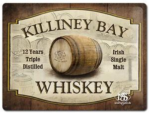 Nostalgie-Blechschild-Killiney-Bay-Blechschilder