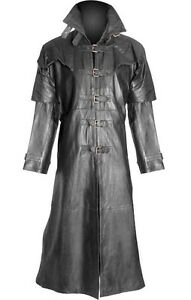 Helsing Mens 100 Coat Gothic Trench Matrix Steampunk Van Goth Pure Leather qxp0fwBx4