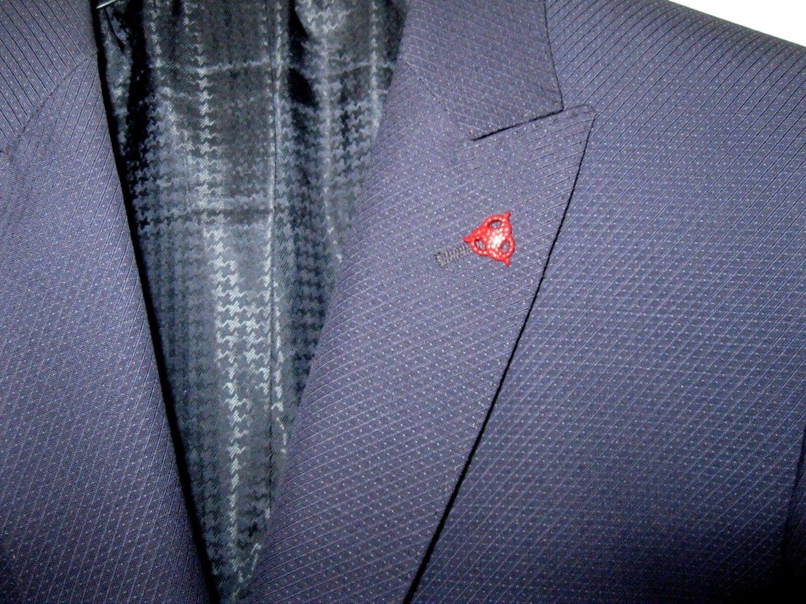 Refinado elegante señores de tu chaqueta chaqueta  roy robson 48 estrecho slim azul oscuro 2912  precios razonables