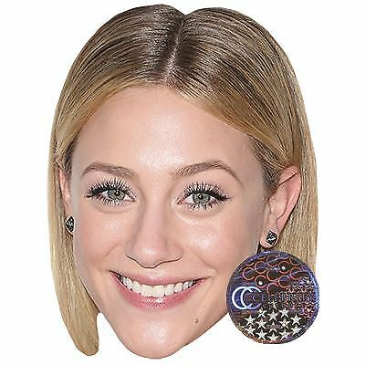 Lili Reinhart Celebrity Mask Card Face and Fancy Dress Mask