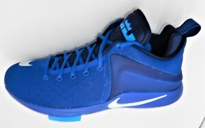 3a6156151a278 NEW NIKE MEN LEBRON ZOOM WITNESS SIZE 11.5 ROYAL BLUE 852439-401 ...