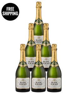 French Sparkling - BLANC FOUSSY BRUT SPARKLING NV (6 bottles)