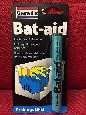 2x Granville Car Bat Aids Battery Tablets Additive Bat-Aid Revitalize Batteries