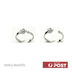 f6b3b8e97 Image is loading 925-sterling-silver-rings-Adjustable-star-ring-with-