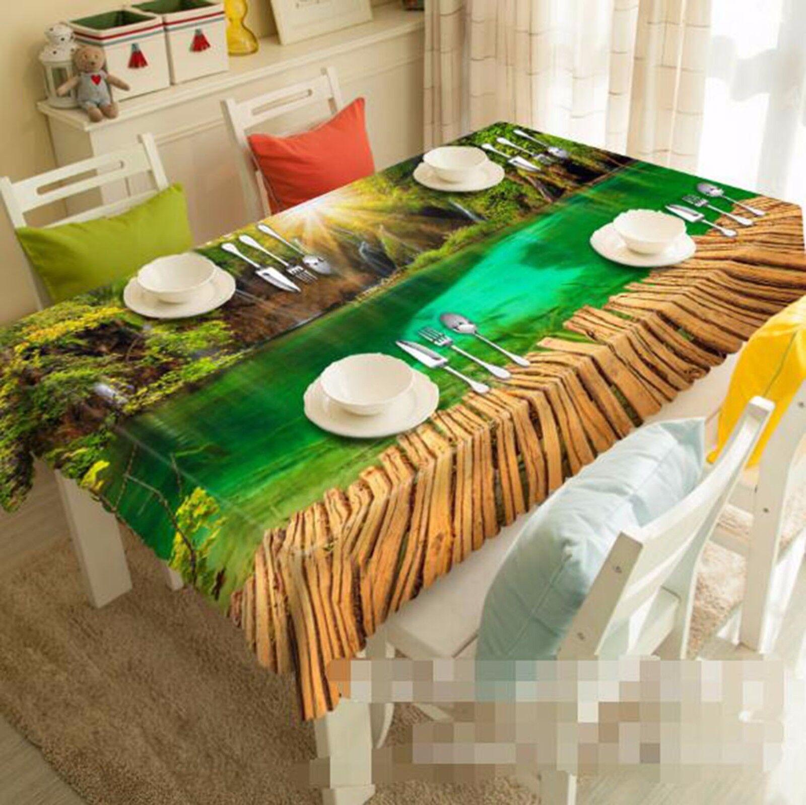 3D Lake View Mantel Mantel Paño Cumpleaños Fiesta AJ Wallpaper Reino Unido Limón