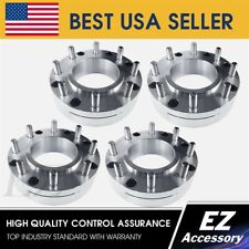 4 Wheel Adapters 5x55 To 8x170 Thickness 2 Hub Centric To Super Duty Wheels Fits Ford