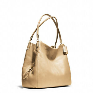 Image Is Loading Nwt Coach Madison Leather Small Phoebe Shoulder Bag