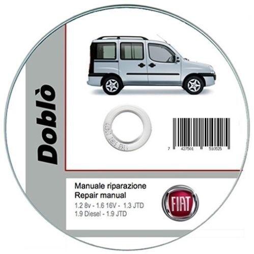 repair manual Fiat Doblò 2000-2005 workshop manual