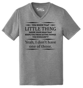 Mens-You-Know-That-Thing-In-Your-Head-I-Don-039-t-Have-One-Triblend-V-Neck-Party