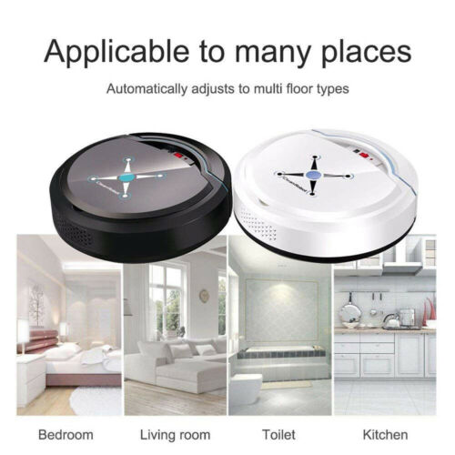 Self Navigated Rechargeable Smart Robot Vacuum Cleaner Auto Sweeper Edge Clean