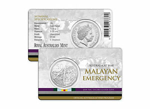 Details about 2016 Australia at War Series - Malayan Emergency - 50c Coin