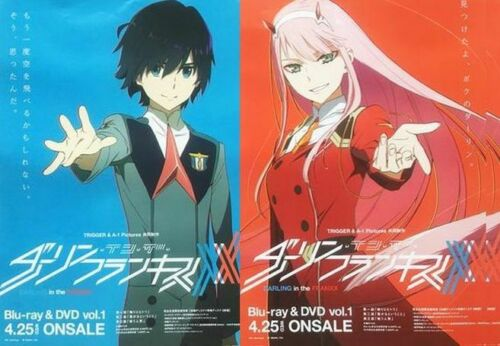 Darling in the Franxx B2 SIZE PROMO POSTER SET