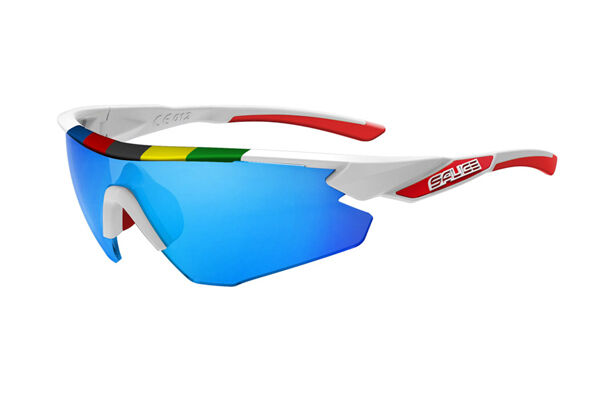 GLASSES SALICE Mod.012CDM WHITE Lens Rainbow bluee GLASSES salice 012CDM WHITE