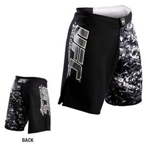 NEW-UFC-Camo-Fight-Shorts-Black-Camo-Mixed-Martial-Arts-MMA-BJJ-Kickboxing
