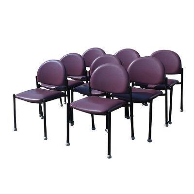 Vintage Purple Bola Ron Kemnitzer Side Chair (MR11478)
